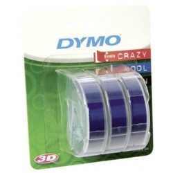 páska DYMO 3D Blue Tape (9mm) 3ks S0847740