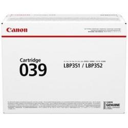 toner CANON CRG-039 black i-SENSYNS LBP351x/LBP352x (11.000 str.)...