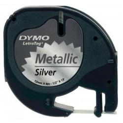 páska DYMO 59429 LetraTag Silver Metallic Tape (12mm) S0721750/S0721710