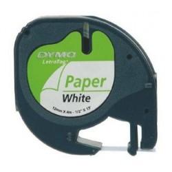 páska DYMO 59421 LetraTag White Paper Tape (12mm) S0721520/S0721500