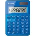 stolová kalkulačka CANON LS-100K modrá, 10 miest, solárne napájanie + batérie 0289C001
