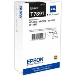 Epson atrament WF5000 series black XXL - 65.1ml C13T789140