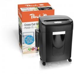 PEACH Skartovač Cross Cut Shredder PS500-75 510854