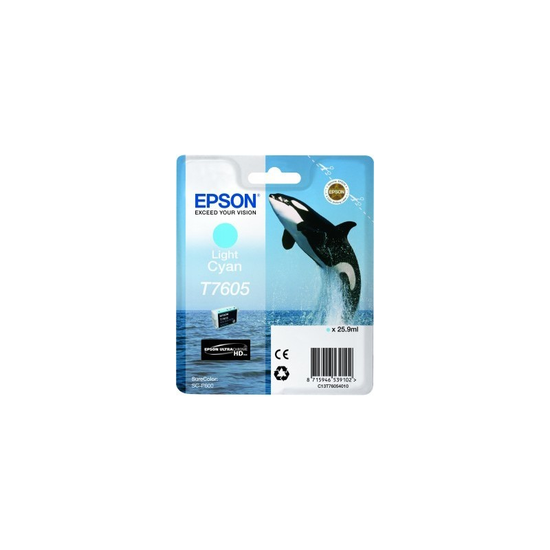 Epson atrament SC-P600 light cyan C13T76054010