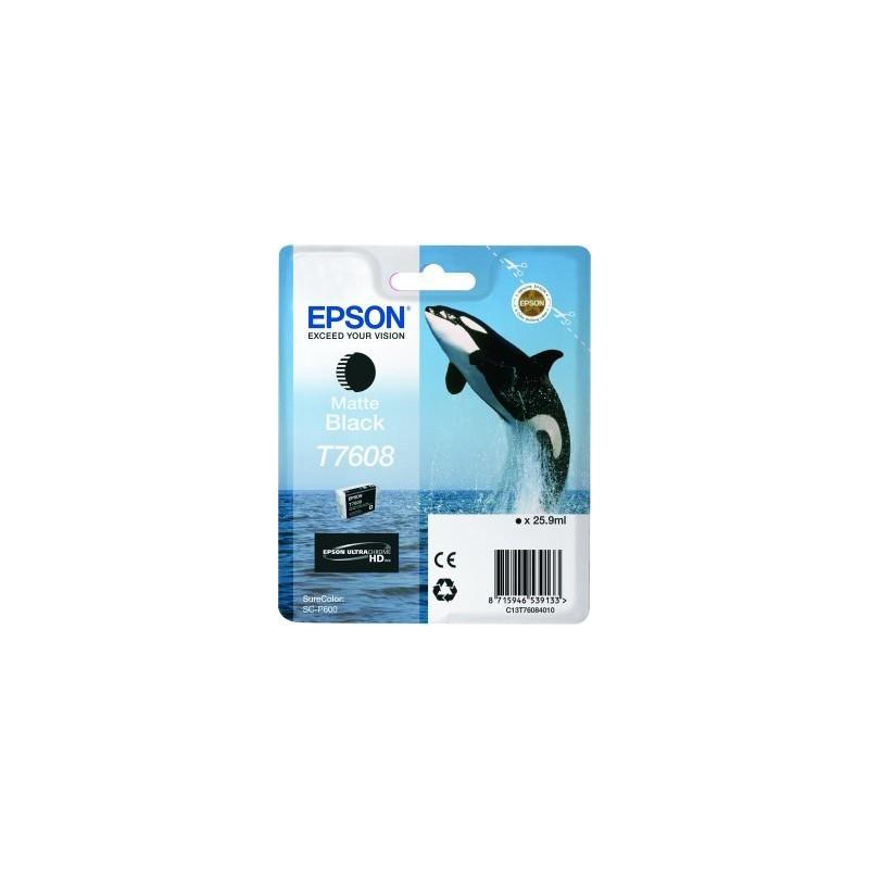 Epson atrament SC-P600 matte black C13T76084010