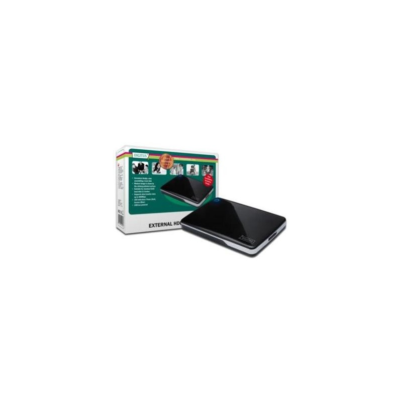 "Digitus 2,5 "" Ext. Skříň pro SATA na USB 2.0 ( bezšroubová instalace ) DA-71002"