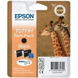 Epson atrament S D120,DX7450,DX8450,DX9400 black HC C13T07114H10