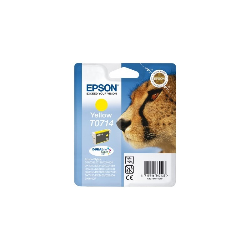Epson atrament S D120,DX4450,DX7450,DX8450,DX9400 yellow C13T07144011