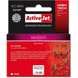 ActiveJet Ink cartridge Canon CLI-8 Magenta WITH CHIP - 14 ml ACC-8M EXPACJACA0069