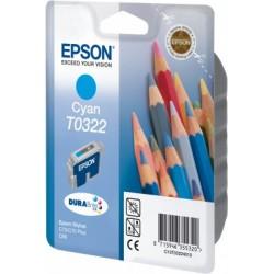 EPSON cartridge T0322 cyan (pastelky) C13T03224010