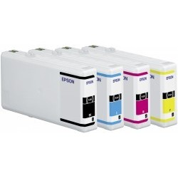Epson atrament WP4000/4500 series yellow XXL C13T70144010