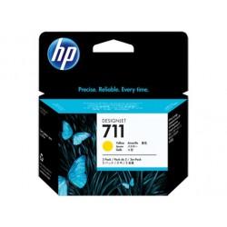 HP náplň č. 711 žltá, 29 ml - 3 ks v balení CZ136A