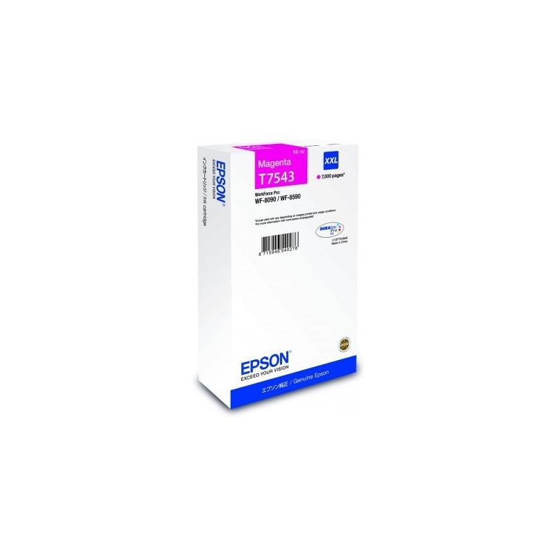 Epson atrament WF-8090/WF-8590 magenta XXL C13T754340