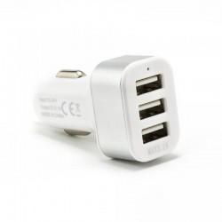SBOX Autonabíjačka 3x USB 2.0 CC-331W wht