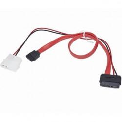 SATA dátový a napájací slimline kabel KFSA-12