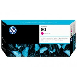 HP No.80 Magenta Printhead and Printhead Cleaner C4822A