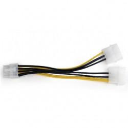 """GEMBIRD Rozdvojka napájania 2x 5,25""""na PCIe (8pin) CC-PSU-81"""