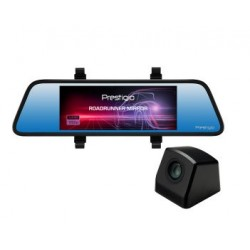 "Prestigio RoadRunner MIRROR 405DL 6.86"" 1280x480 Touch Screen 1 GB, up to 64 GB (SDHC, MicroSD, class 10) PCDVRR405DL"