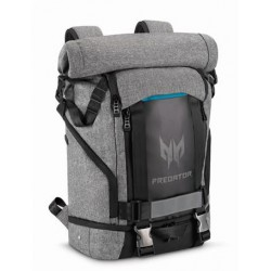 "Acer PREDATOR GAMING ROLLTOP BACKPACK FOR 15"" NBs GRAY n TEAL BLUE (RETAIL PACK) NP.BAG1A.290"