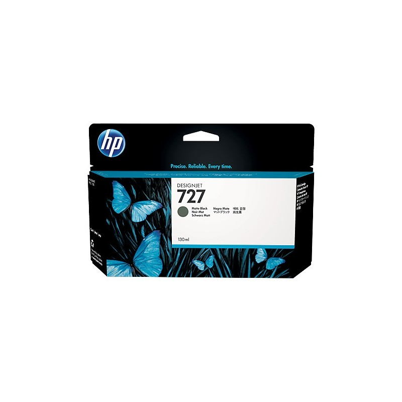HP 727 130-ml Mate Black Ink Cartridge B3P22A