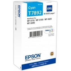 Epson atrament WF5000 series cyan XXL - 34.2ml C13T789240