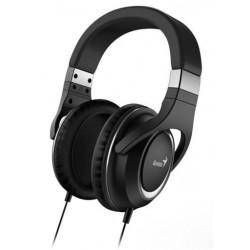 GENIUS headset HS-610/ sluchátka s mikrofonem, 3,5mm jack - 4-pin,černé 31710010400