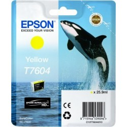 Epson atrament SC-P600 yellow C13T76044010