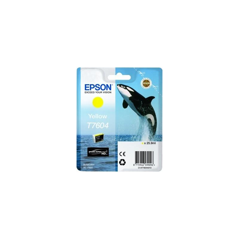 Epson atrament SC-P600 yellow C13T76044010