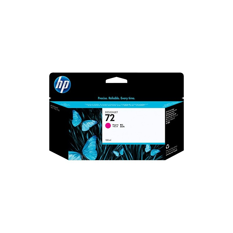 HP 72 130 ml Magenta Ink Cartridge with Vivera Ink C9372A