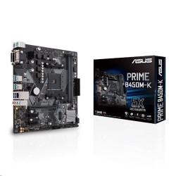 ASUS PRIME B450M-K soc.AM4 B450 DDR4 mATX M.2 D-Sub DVI 90MB0YP0-M0EAY0