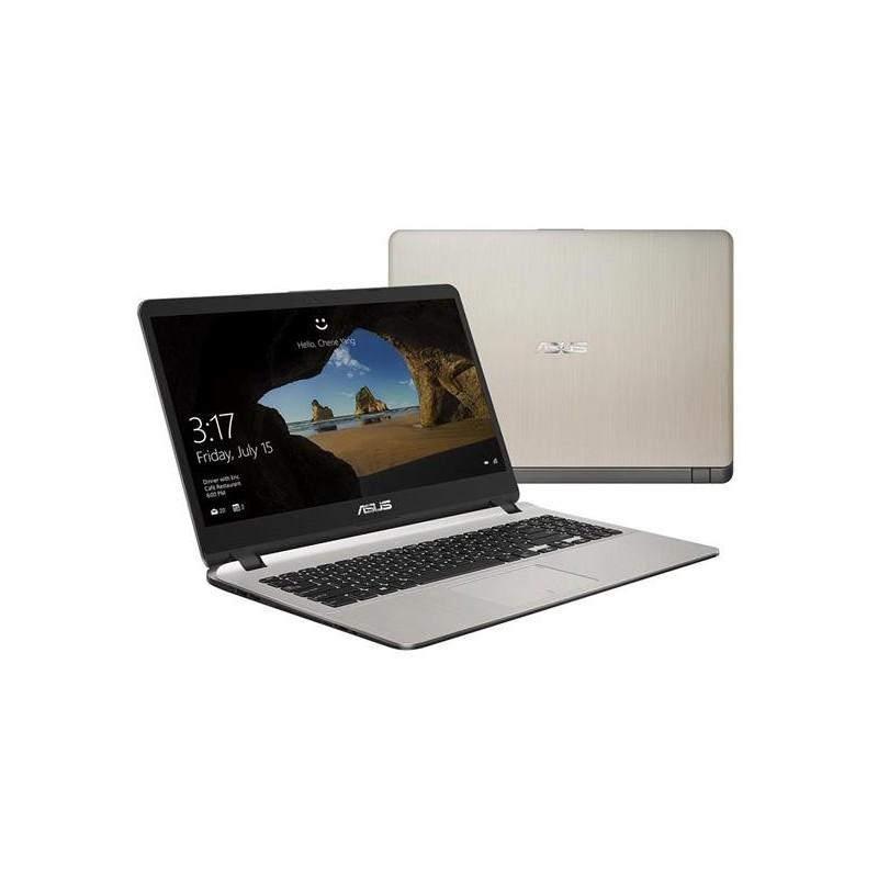 """ASUS X507UB-EJ384T Intel i3-7020U 15.6"""" FHD matny MX110/2GB 8GB 256GB SSD WL Cam Win10 zlaty"""