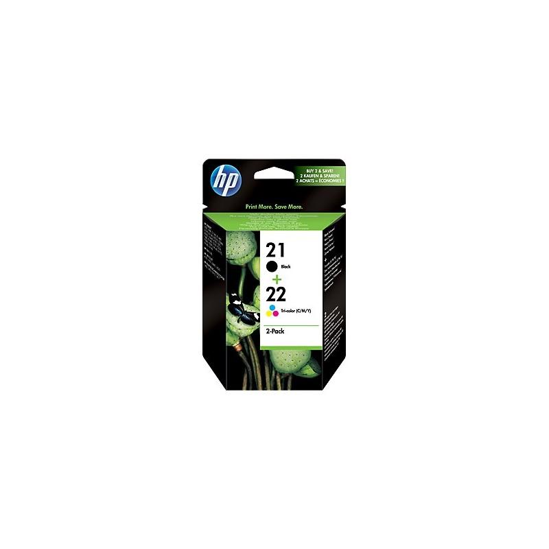 HP náplne č.21/22 kombinované balenie SD367AE