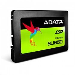 "ADATA 240GB SSD SU650 Series SATA 3 6Gb/s, 2.5"" Box ASU650SS-240GT-R"
