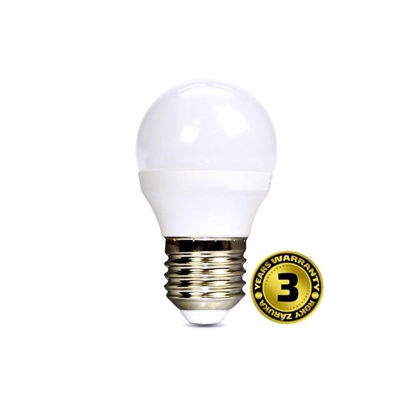 Solight LED žiarovka, miniglobe, 8W, E27, 3000K, 720lm WZ424