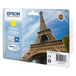 Epson atrament WP4000/4500 series yellow XL C13T70244010