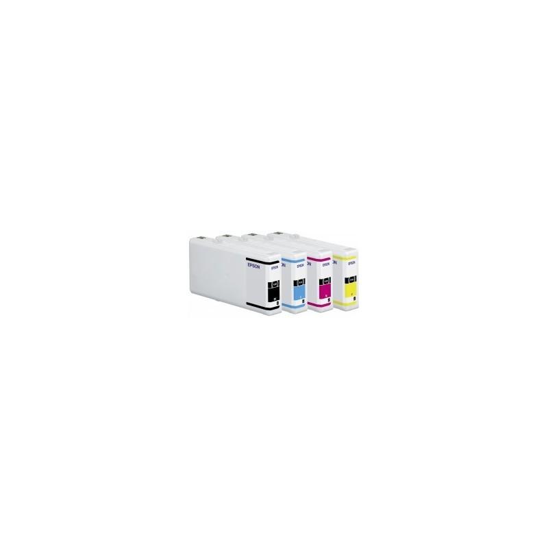 Epson atrament WP4000/4500 series magenta XXL C13T70134010