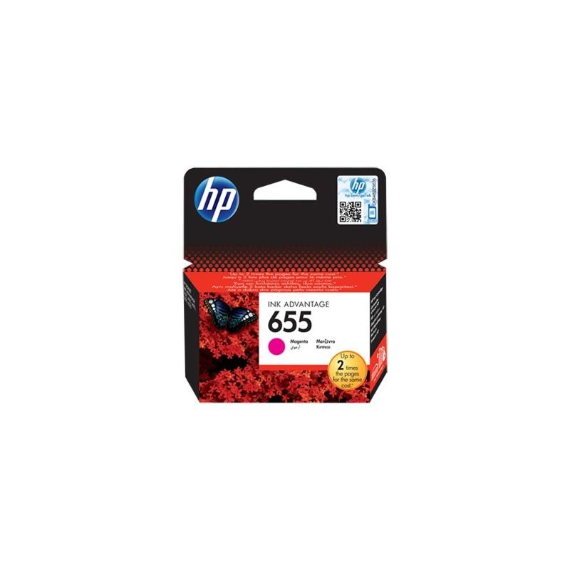 HP náplň c. 655 purpurová CZ111AE