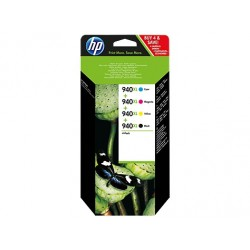 HP 940XL CMYK Ink Cartridge Combo Pack C2N93AE