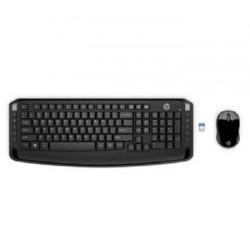 HP Bezdrátová klávesnice a myš HP 300 SK 3ML04AA#AKR