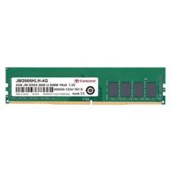 Transcend paměť 4GB DDR4 2666 U-DIMM (JetRam) 1Rx8 CL19 JM2666HLH-4G