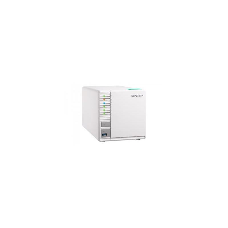 QNAP TS-332X-2G, 1,7 GHz QC/2GB/3xHDD/SSD/1xSFP+/2xGL/USB 3.0/R5/ UQ275
