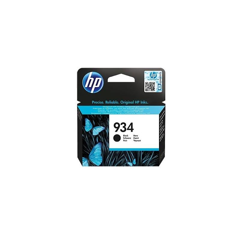 HP Čierna originálna atramentová kazeta HP 934 C2P19AE