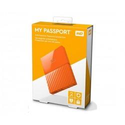 "WD My Passport Exclusive Edition 2TB Ext, 2,5"" USB3.0, ORANGE WDBYFT0020BOR-EEEX"