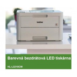 Brother HL-L3210CW, LED tiskárna, 18 str./min., 64 MB RAM, WiFi, GDI HLL3210CWYJ1