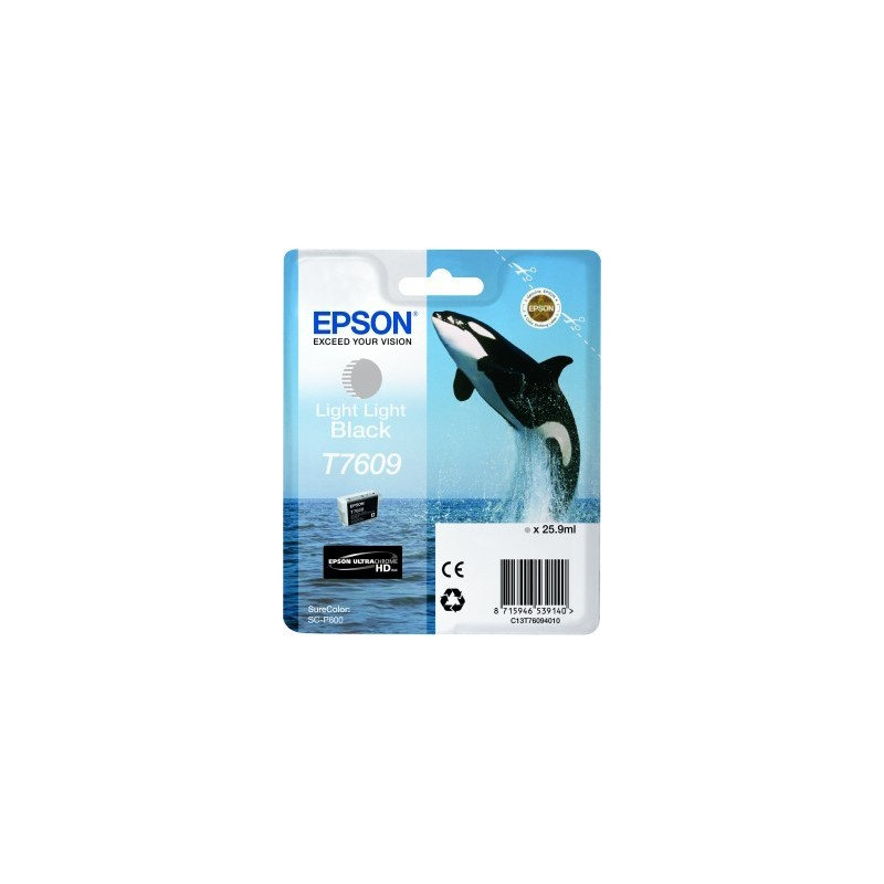 Epson atrament SC-P600 light light black C13T76094010