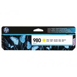 D8J09A žltá atramentová kazeta HP 980 X585z, X555dn, X555xh, X585dn, X585f