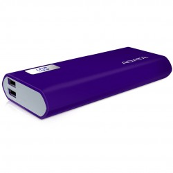 A-DATA Power Bank P12500D, 12500mAh, fialová AP12500D-DGT-5V-CPU