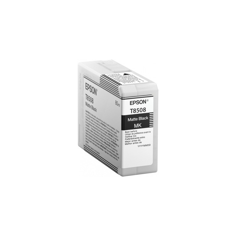 Epson atrament SC-P800 matte black 80ml C13T850800