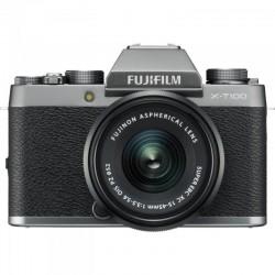 Fujifilm X-T100 - 24,2MP - Silver 16582050