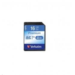 VERBATIM SDHC 16GB Class 10 43962